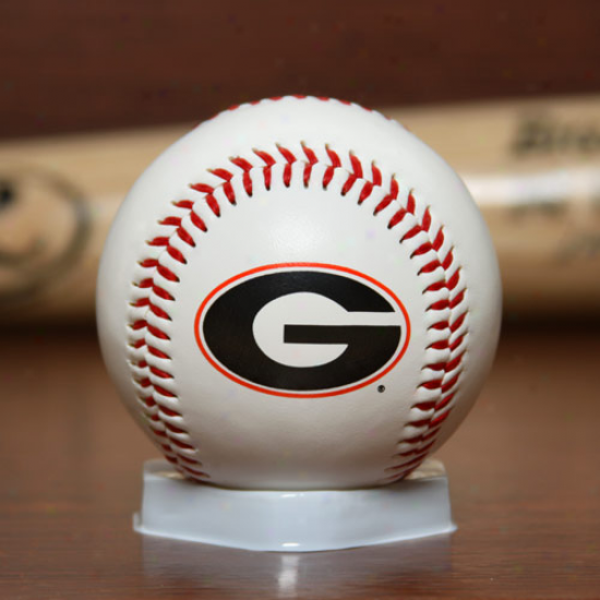 Rawlings Georgia Bulldogs ''the Original'' Team Logo Collectible Baseball