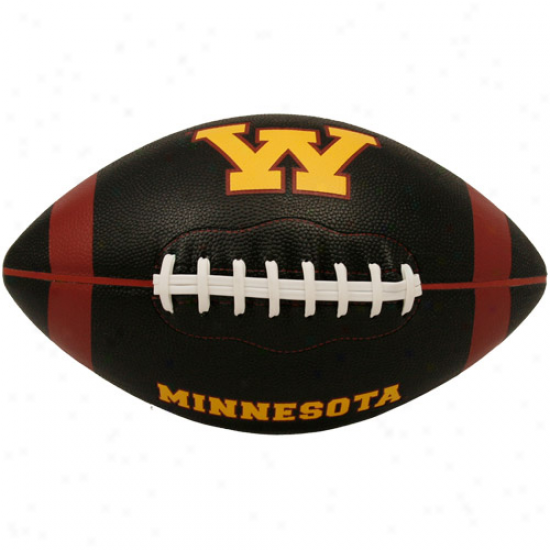 Rawlings Minnesota Golden Gophers Black Pt-6 Precision Grip Full Size Football