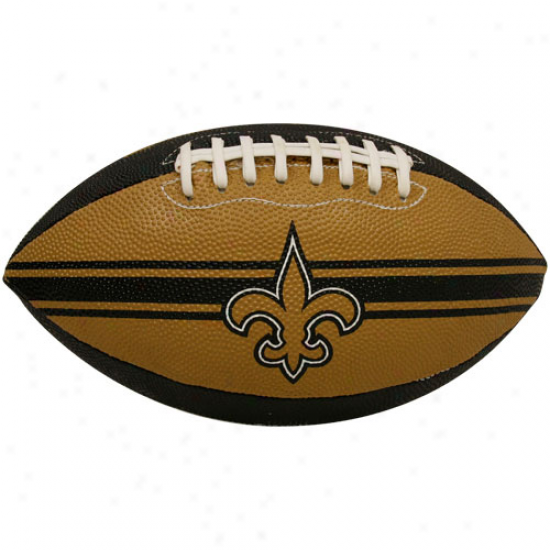 Rawlings New Orleans Saints Tailgater Junior-size Flotball & Kicking Tee