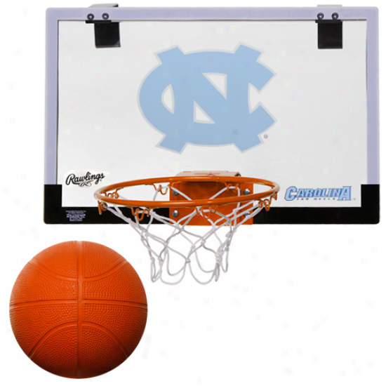 Rawlings North Carolina Tar Heels (unc) Game On Backboard Hoop Set