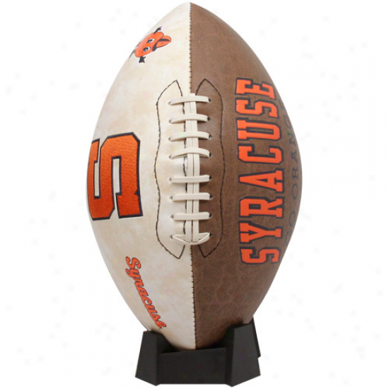 Rawlings Syracuse Orange College Vault Full-size Football