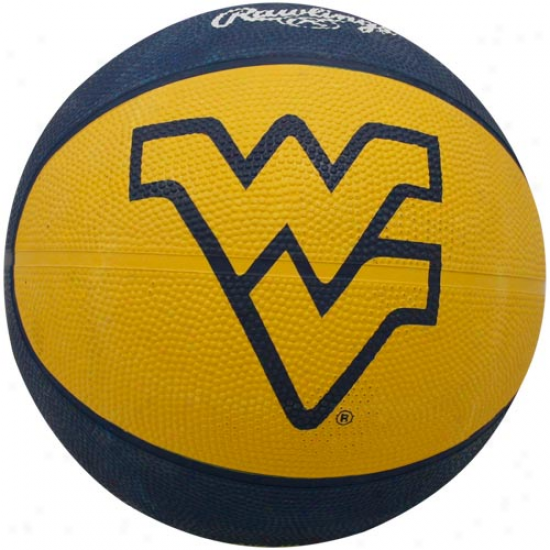 Rawlings West Virginia Mountaineers Crossover Full-size Basketball