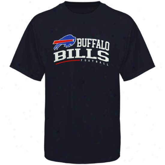 Reebok Buffalo Bills Arched Horizon T-shirt - Ships Blue