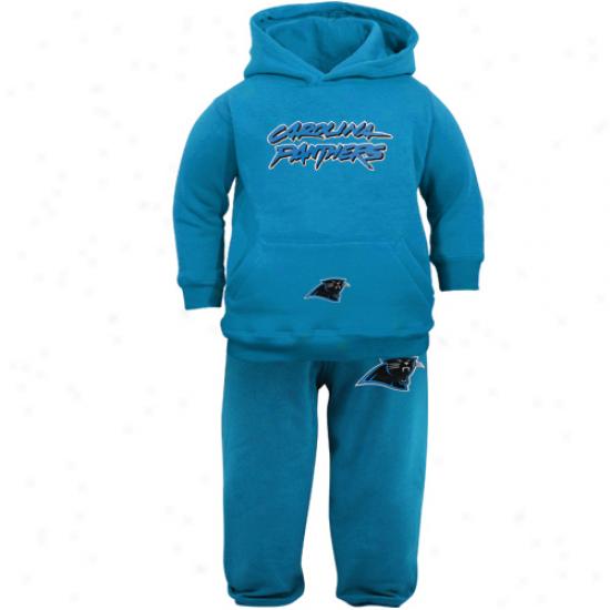 Reebok Carolina Panthers Toddler Panther Livid Pullover Hoodie Sweatshirt & Pants Set