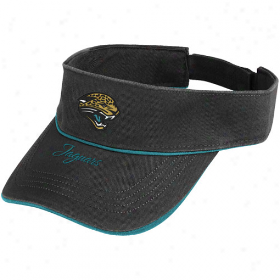 Reebok Jacksonville Jaguars Ladies Black Team Passion Adjustable Visor