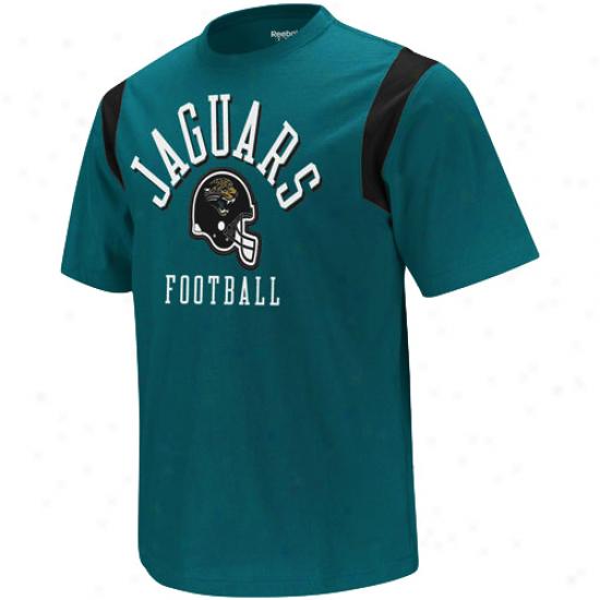 Reebok Jacksonville Jaguars Youth Gridiron Crew T-shirt - Teal
