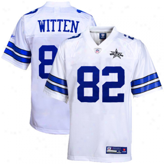 Reebok Jason Witten Dallas Cowboys 50th Anniversary Replica Jersey - White