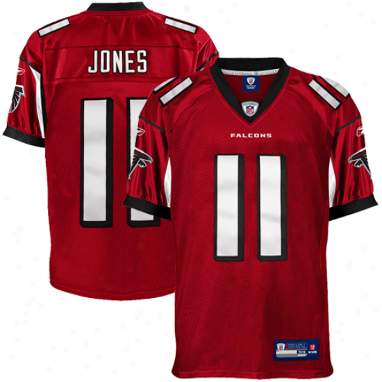 Reebok Julio Jones Atlanta Falcons Authentic Jersey - Red