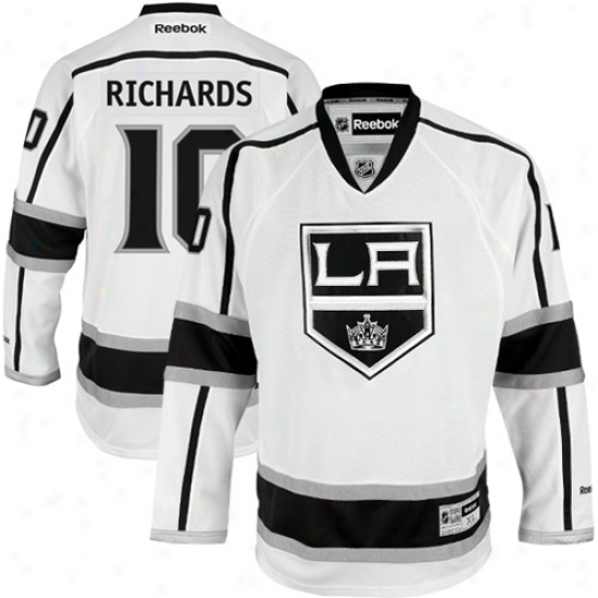Reebok Mike Richards Los Angeles Kings Prremier Jersey - White