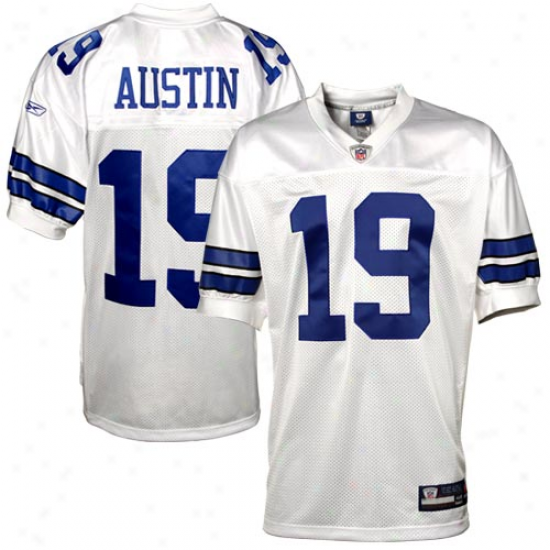 Reebok Miles Austin Dallas Cowboys Authentic Jersey - White