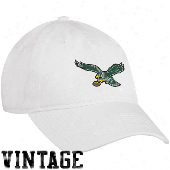 Reebok Philadelphia Eagles Ladies Of a ~ color Old School Adjustable Hat