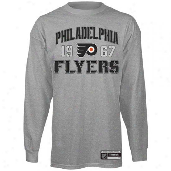Reebok Philadelphia Flyers Validation Long Sleeve T-shirt - Asu