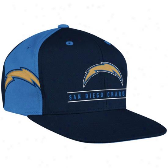 Reebok San Diego Chargers Navy Blue-powder Blue Duality Snapback Hat