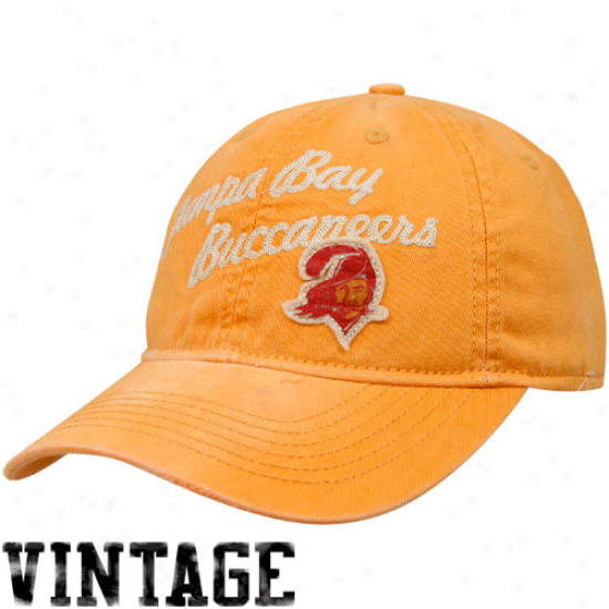 Reebok Tampa Bay Buccaneers Orange Glaze Lifestyle Vintage Adjustable Hat