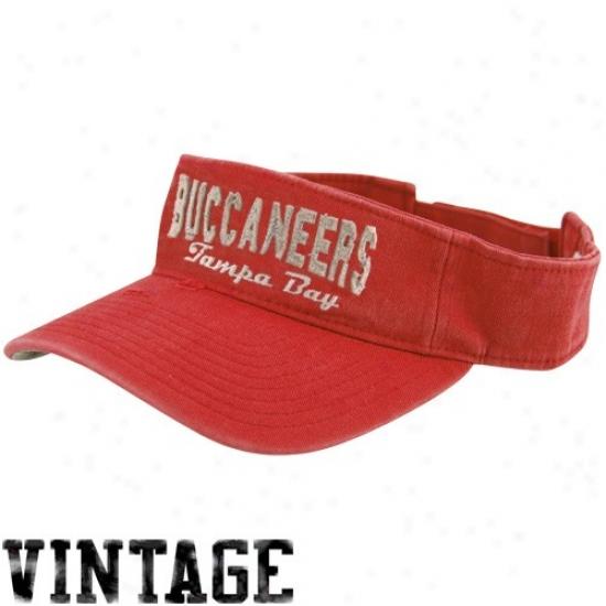 Reebok Tampa Bay Buccaneers Red Gws Visor