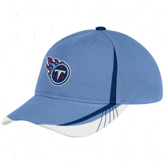 Reebok Tennessee Titans Ladies Light Blue 2011 Draft Pick Adjustable Slohch Hat