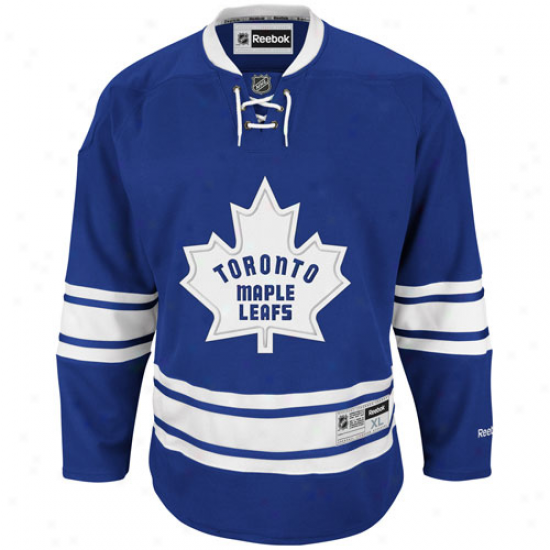 Reebok Toronto Maple Leafs Premier Jersey - Royal Blue