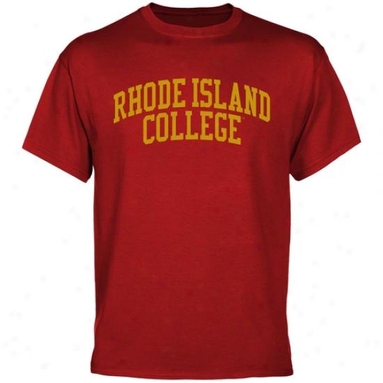 Rhode Island Anchormen Basic Arch T-shirt - Cardinal