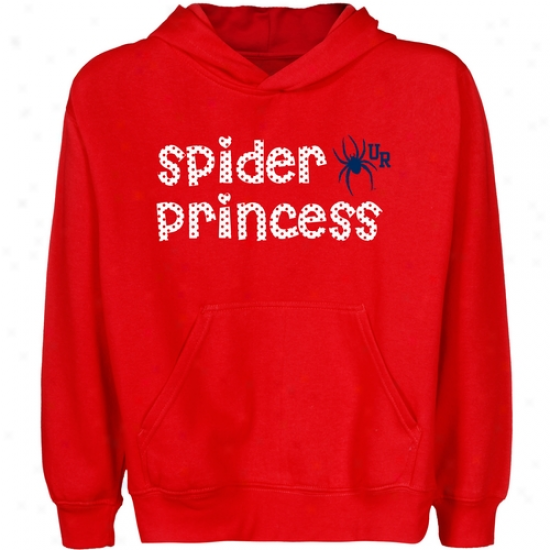 Richmond Spiders Youth Pfincess Pullover Hoodie - Red
