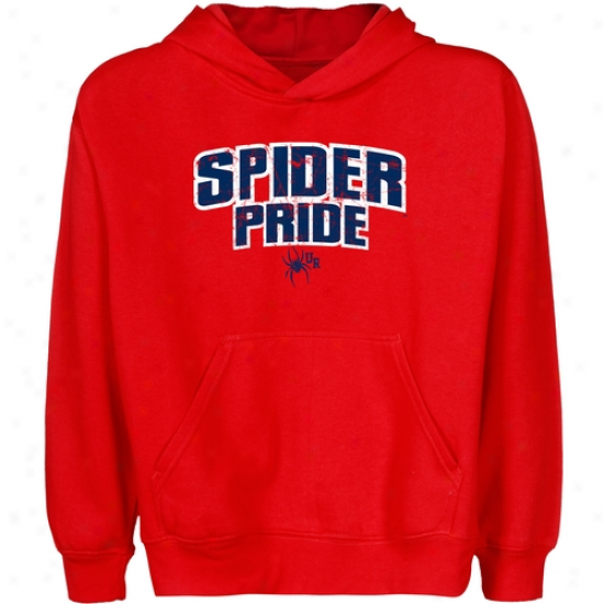 Richmond Spiders Youth State Pride Pullover Hoodie - Red
