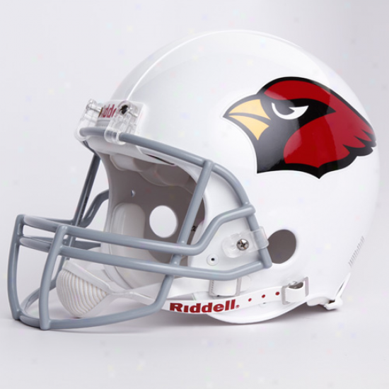Riddell Arizona Cardinals White Authentic Full-size Helmet