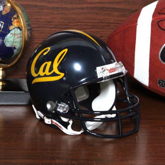 Riddell Cal Bears Navy Blue Replica Mini Helmet