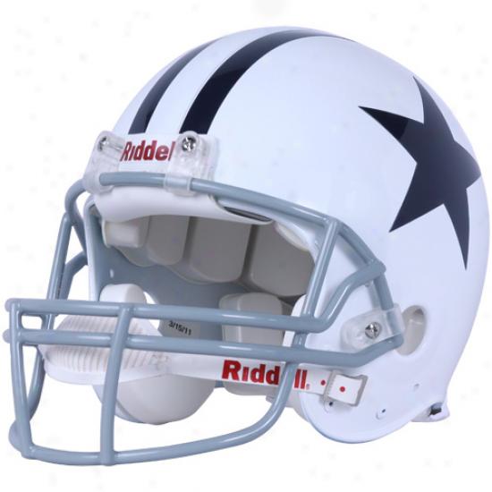 Riddell Dallas Cowboys Trustworthy 1976 Throwback Full-size Helm