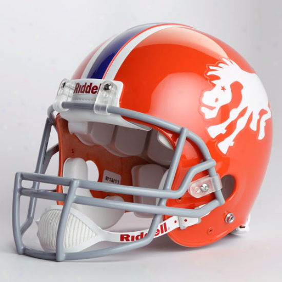 Riddell Denver Broncos 1966 Throwback Full-size Authentic Helmet