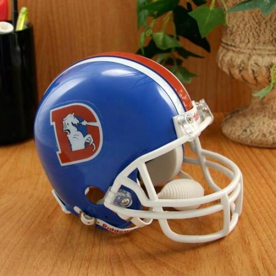 Riddell Denver Broncos 1975-1996 Throwback Replica Mini Helmet