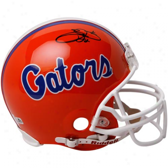 Riddell Florida Gators #22 Emmitt Smith Autographed Authentic Full-size Helmet