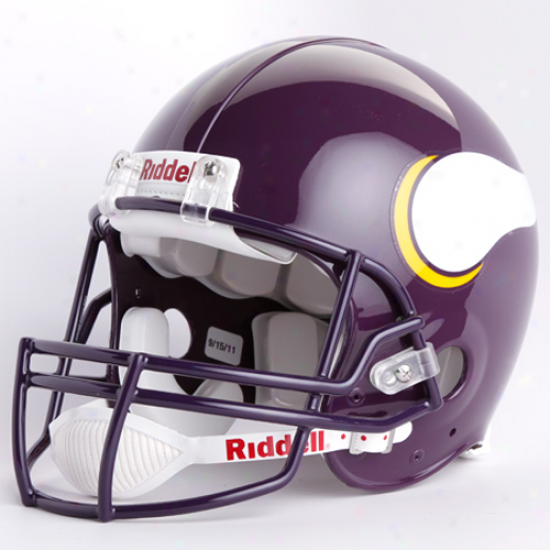 Riddell Minnesota Vikings 1983-2001 Throwback Full-size Authentic Helmet