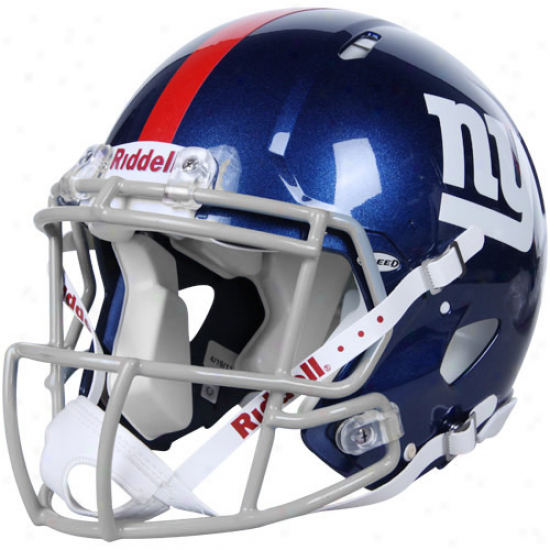 Riddell New York Giants Revolution Speed Full-size Authentic Football Heomet