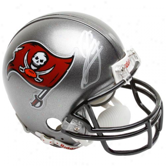Riddell Tampa Bay Buccaneers #5 Josh Feeeman Autographed Mini Autograph copy Helmet