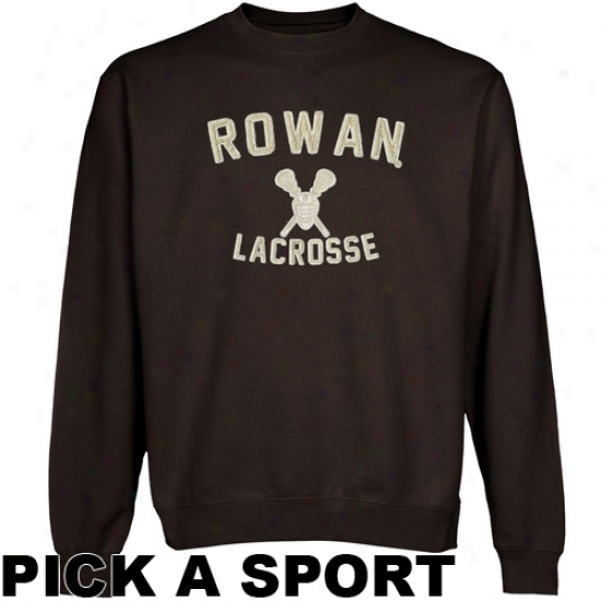 Rowan Profs Legacy Crew Neck Fleece Sweatshirt - Brown