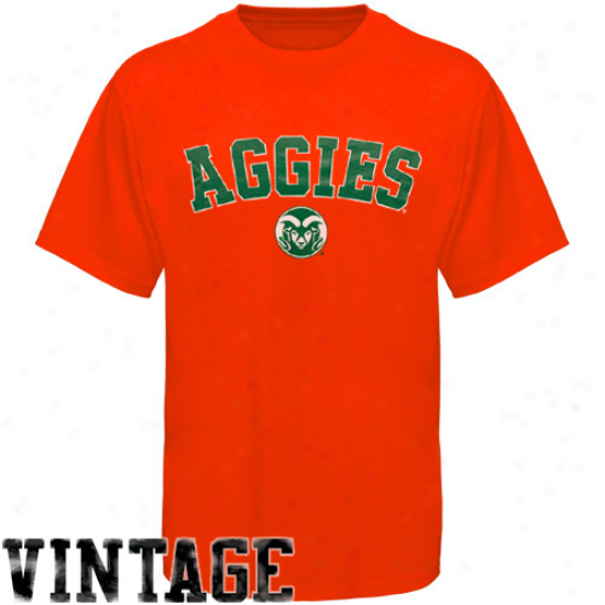 Russell Colorado State Rams Orange Ouut T-shirt - Orange