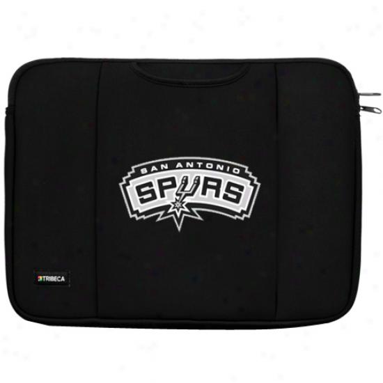 San Antonio Spurs Black 13'' Notebook Breathe Sleeve