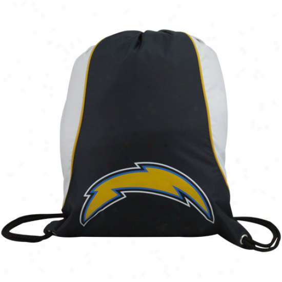 San Diego Chargers Ships of war Blue-white Axis Drawstring Backpack