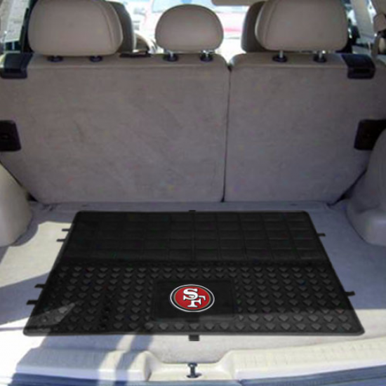 San Francisco 49ers 31'' X 31'' Vinyl Cargo Mat