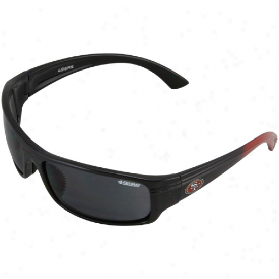 Sab Francisco 49ers Black Block Sunglasses