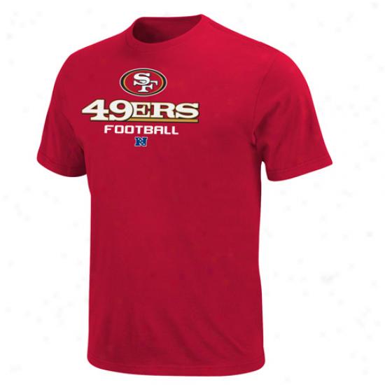 Sam Frzncisco 49ers Critical Victory V Tshirt - Scarlet
