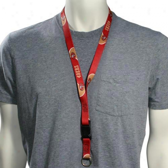 San Francisco 49ers Lanyard, Key And Badge Owner