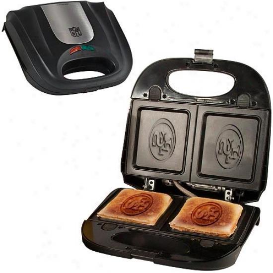 San Francisco 49ers Logo Sandwich & Waffle Grill