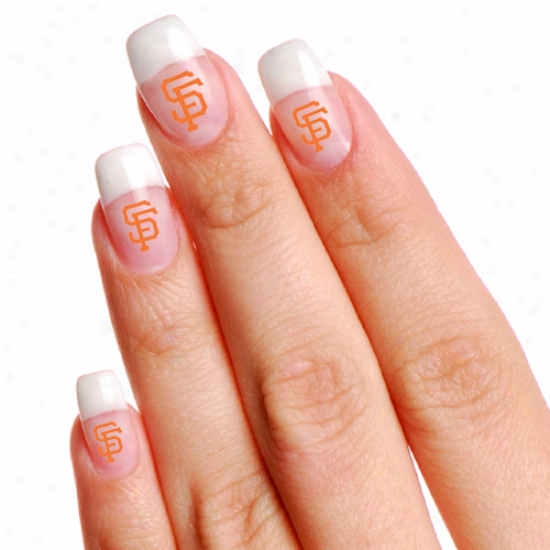 San Francisco Giants 4-pack Temporary Claw Tattoos
