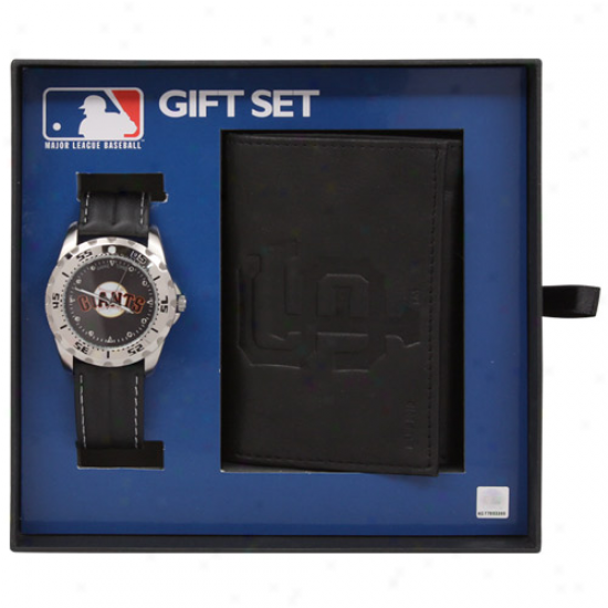 San Francisco Giants Watch & Wallet Gift Fix