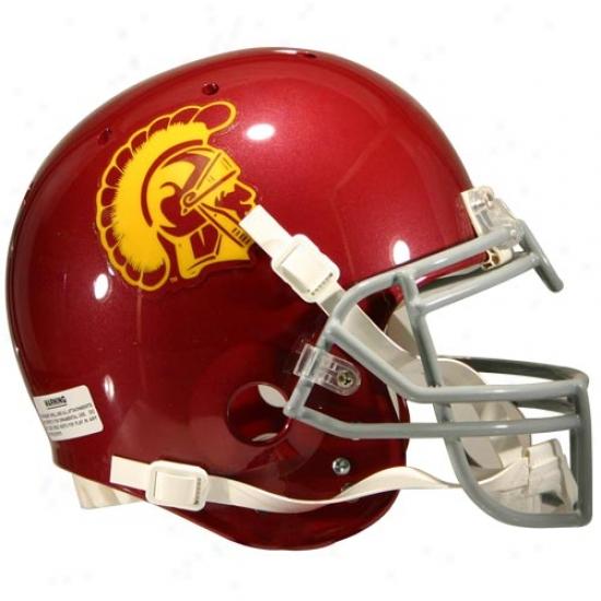 Schutt Usc Trojans Full Size Authentic Helmet