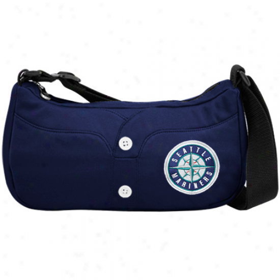 Seattle Mariners Navy Blue Jersey Purse