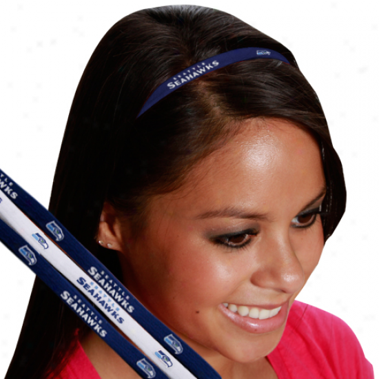 Seattle Seahawks 3-pack Elastic Headbands