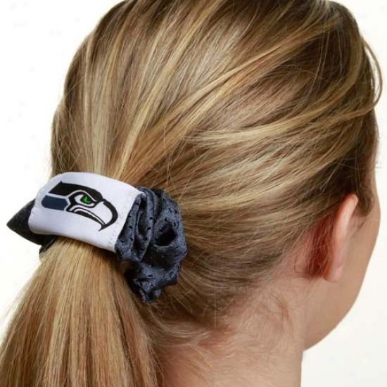 Seattle Seahawks Pacific Blue Ensnare Hair Twist