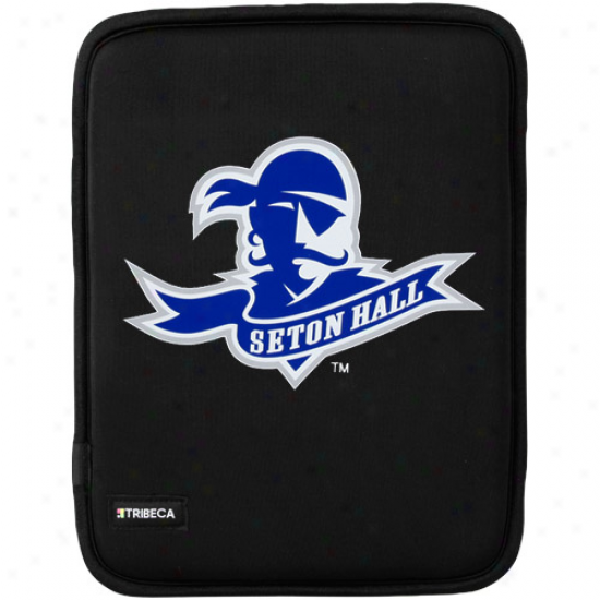Seton Hall Pirates Black Apple Ipad Slip Sleeve