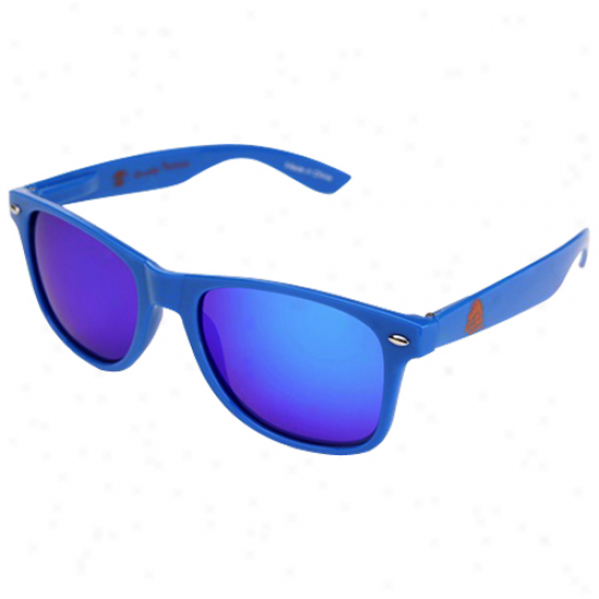 Shady Peeps Boise State Broncos Kingly Blue Signature Series Reflective Sunglasses